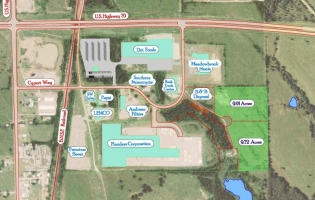 Aerial Map of New Horizons Industrial Park